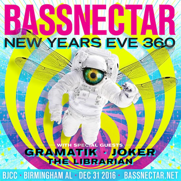 Bassnectar - NYE360 2016