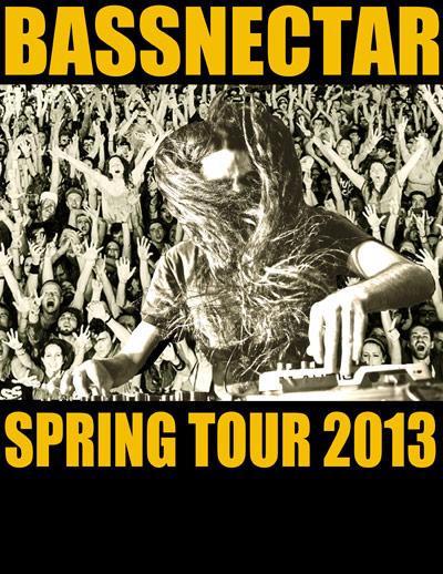 Bassnectar Spring Tour 2013