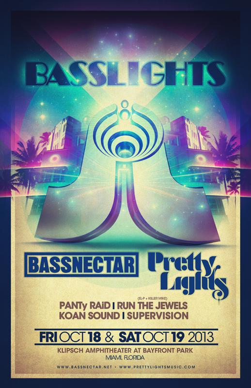 Bassnectar & Pretty Lights in Miami, FL