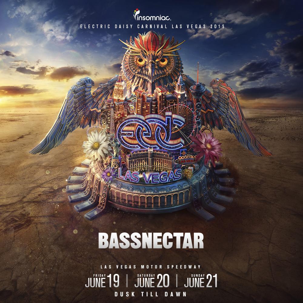 Bassnectar @ EDC Las Vegas