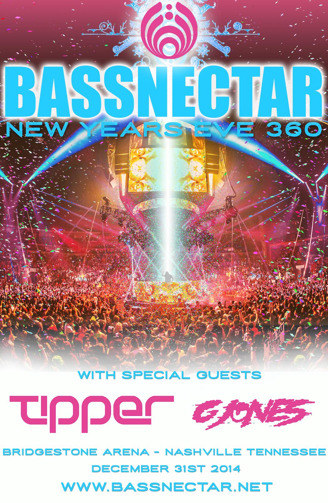 Bassnectar - Halloween 2014 - NVSB Tour 2014