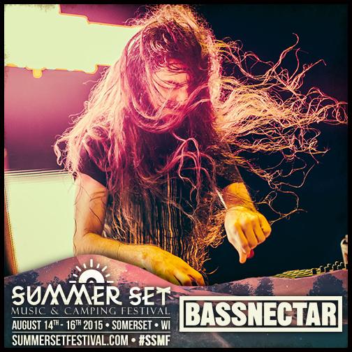 Bassnectar @ Summer Set Music Festival SSMF 2015