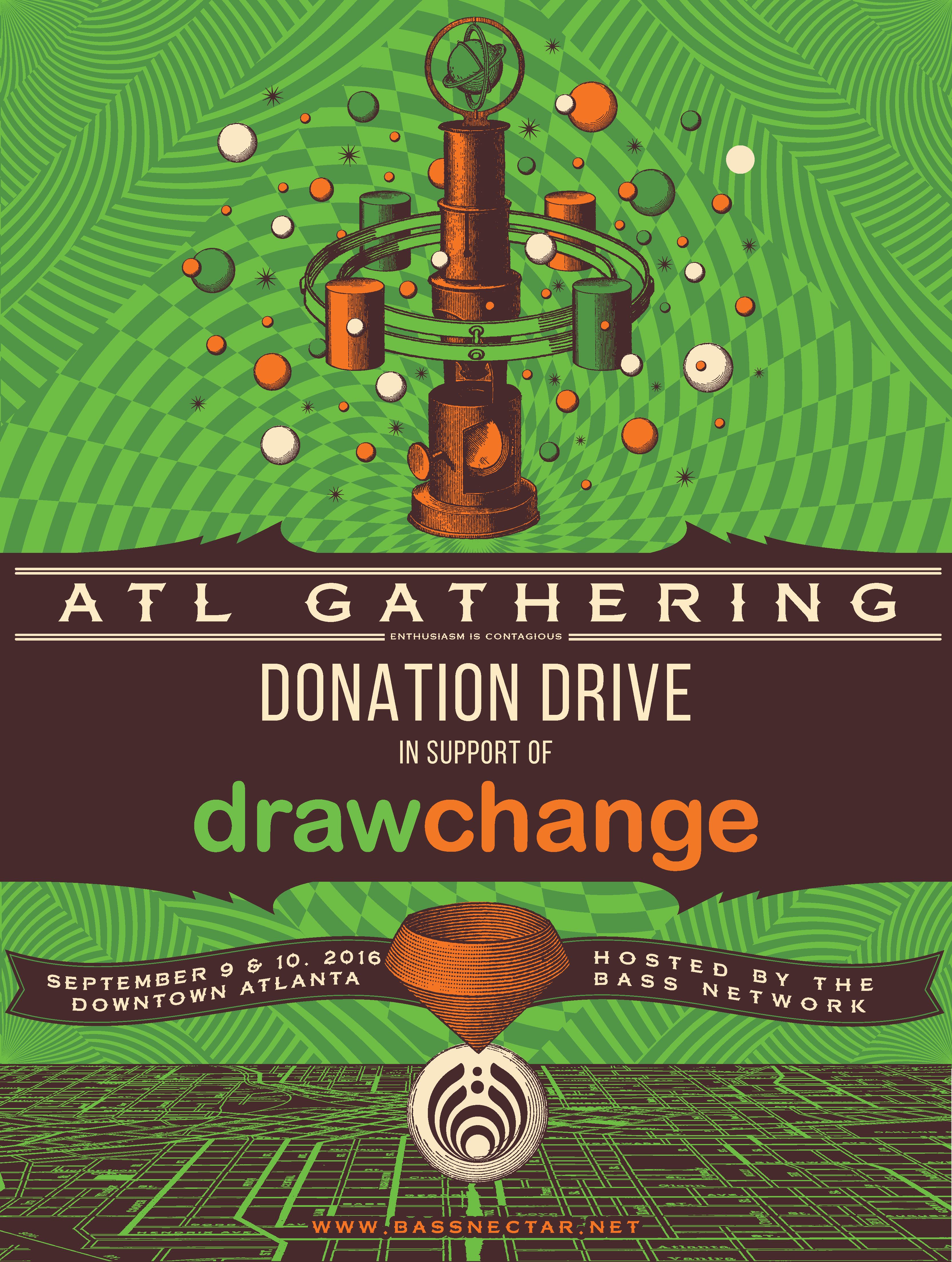 Bass Network - ATL Donation Drive