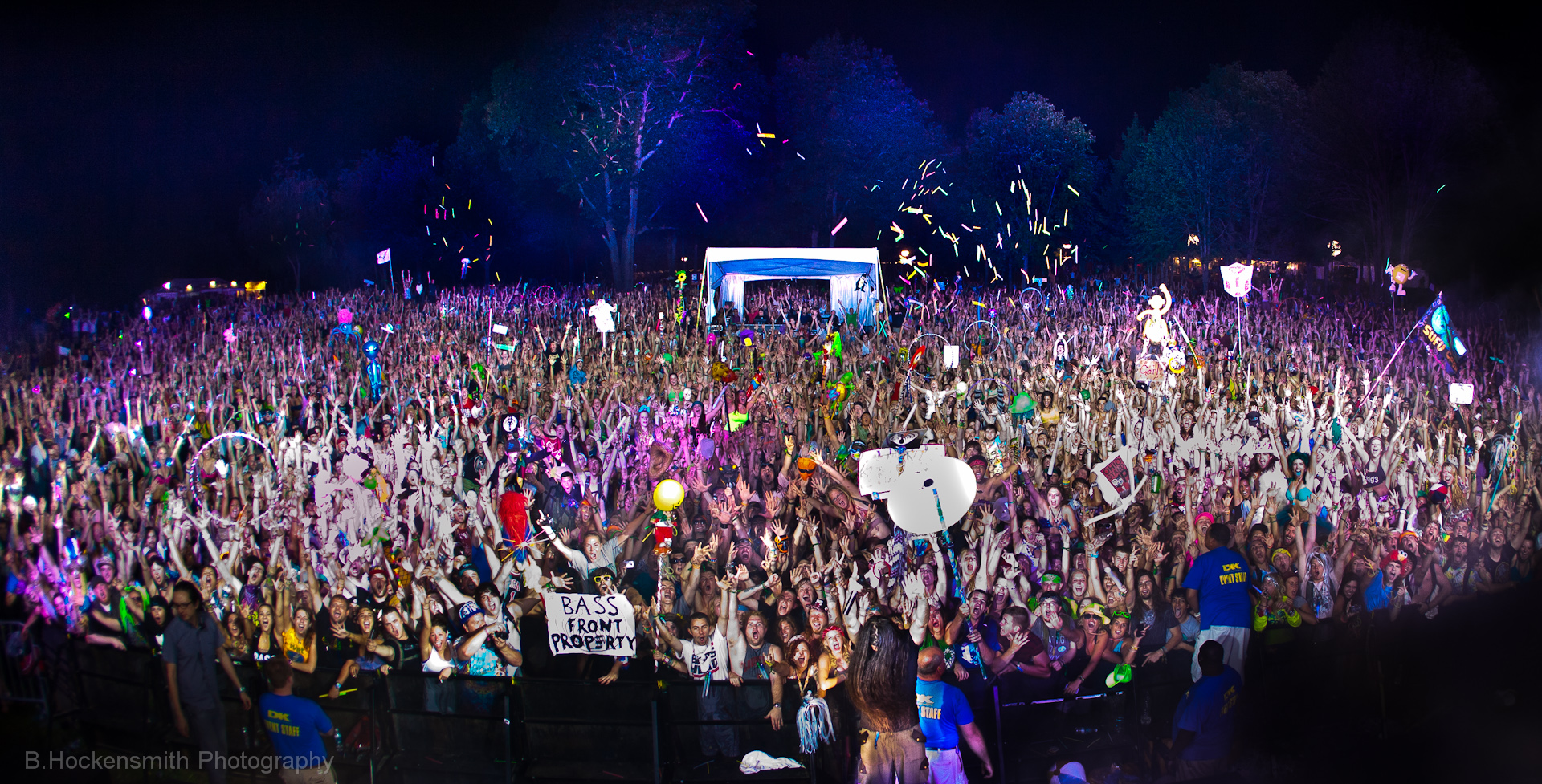 Bassnectar Family Photo Electric Forest