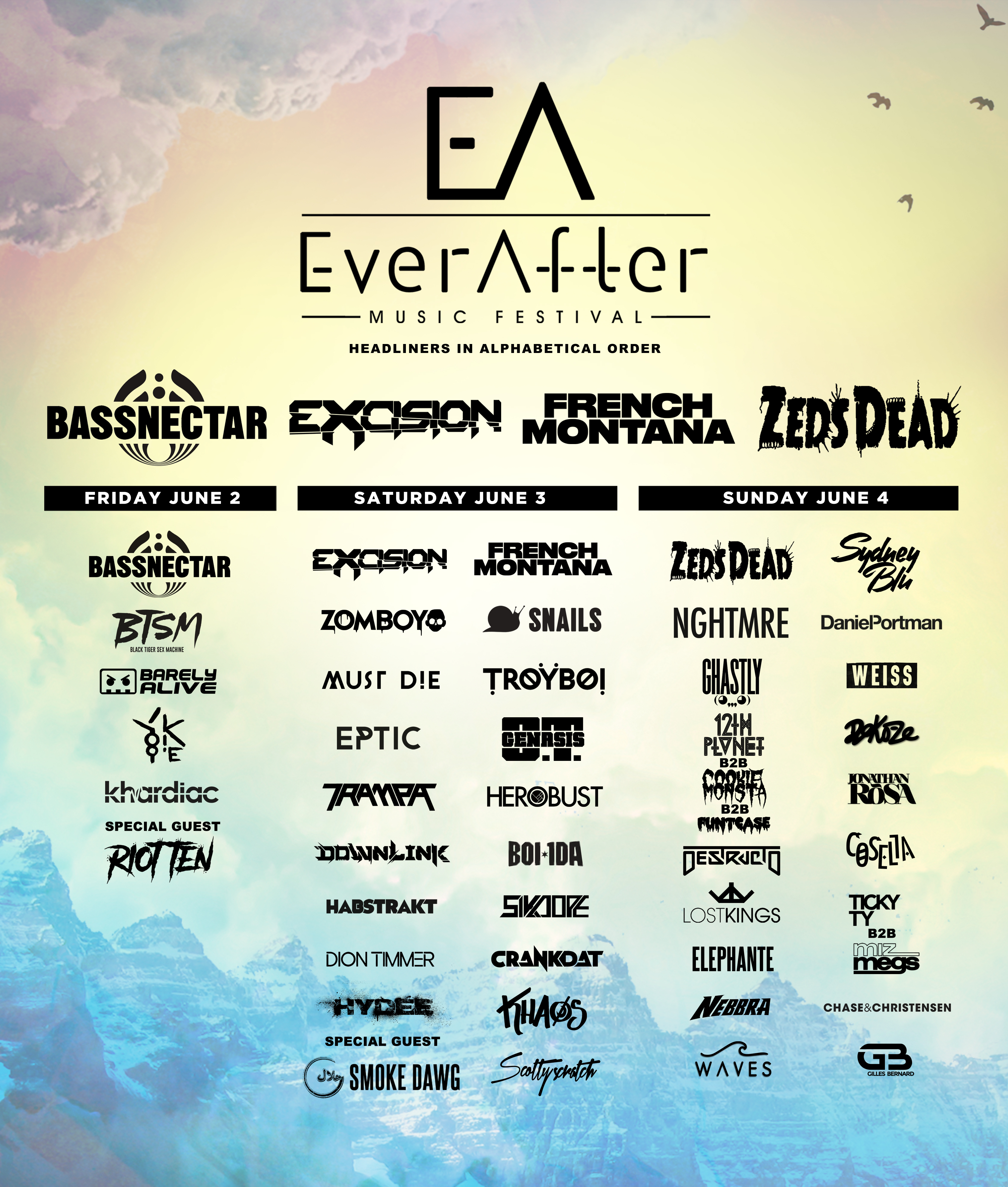Bassnectar at Ever After 2017