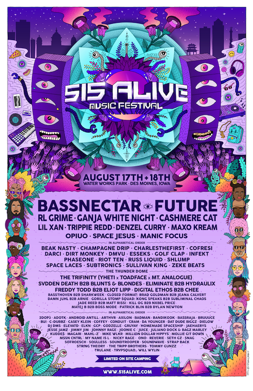 Bassnectar at 515 Alive 2018