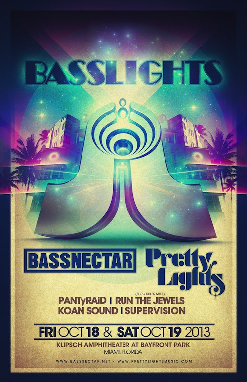 Bassnectar + Pretty Lights - BassLights 2013