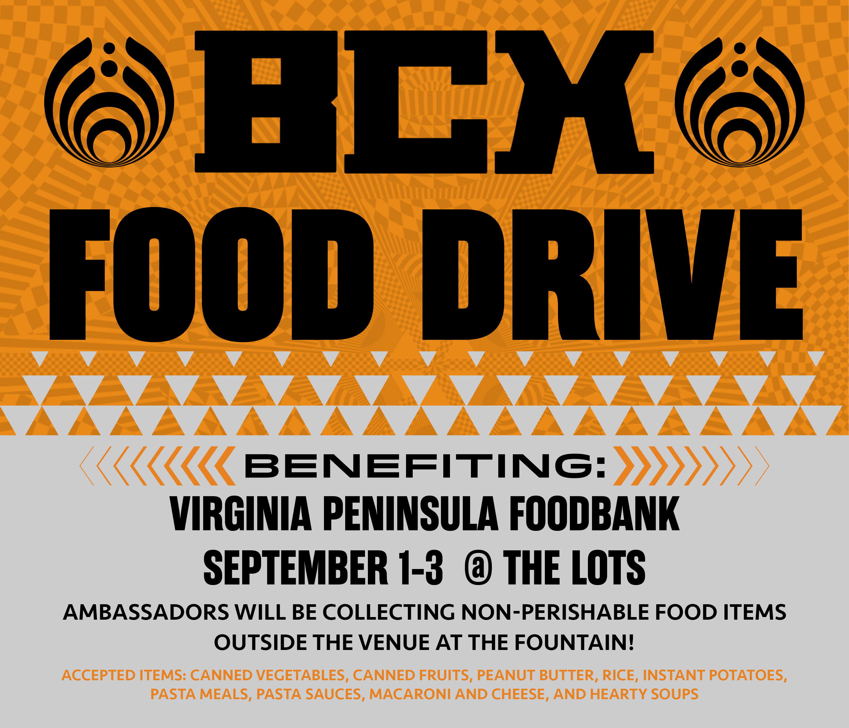 Bass Network Food Drive