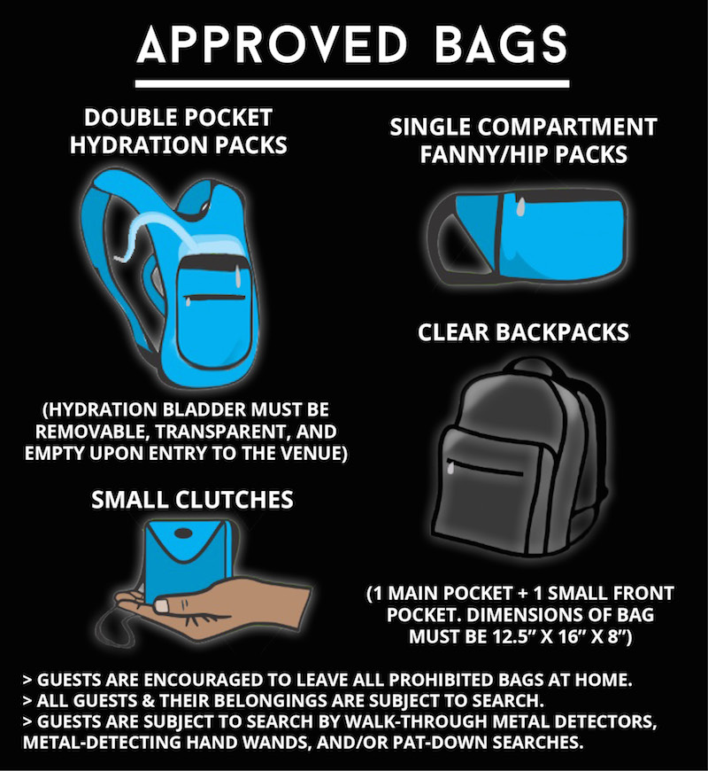 2019 Bag Policy