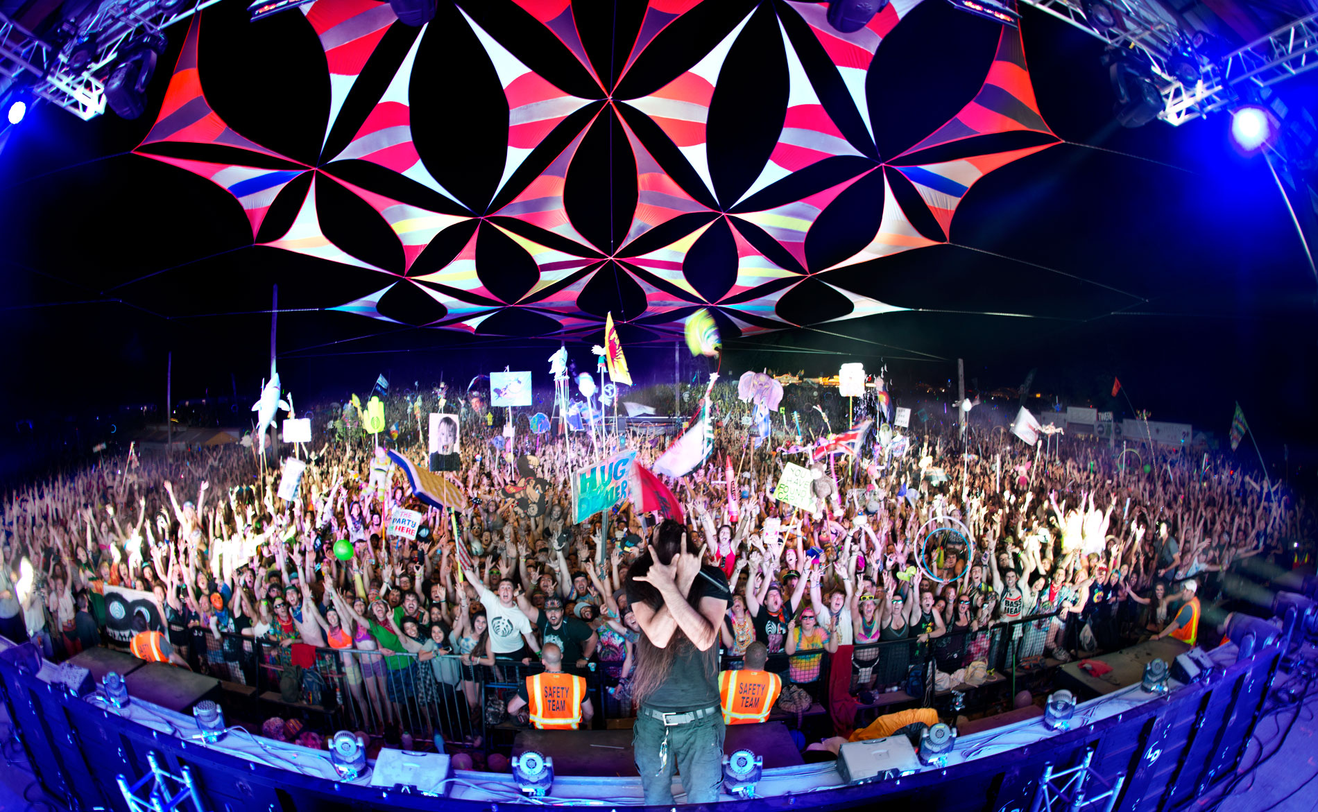 Bassnectar - Summer Camp Family Photo 5/25/14