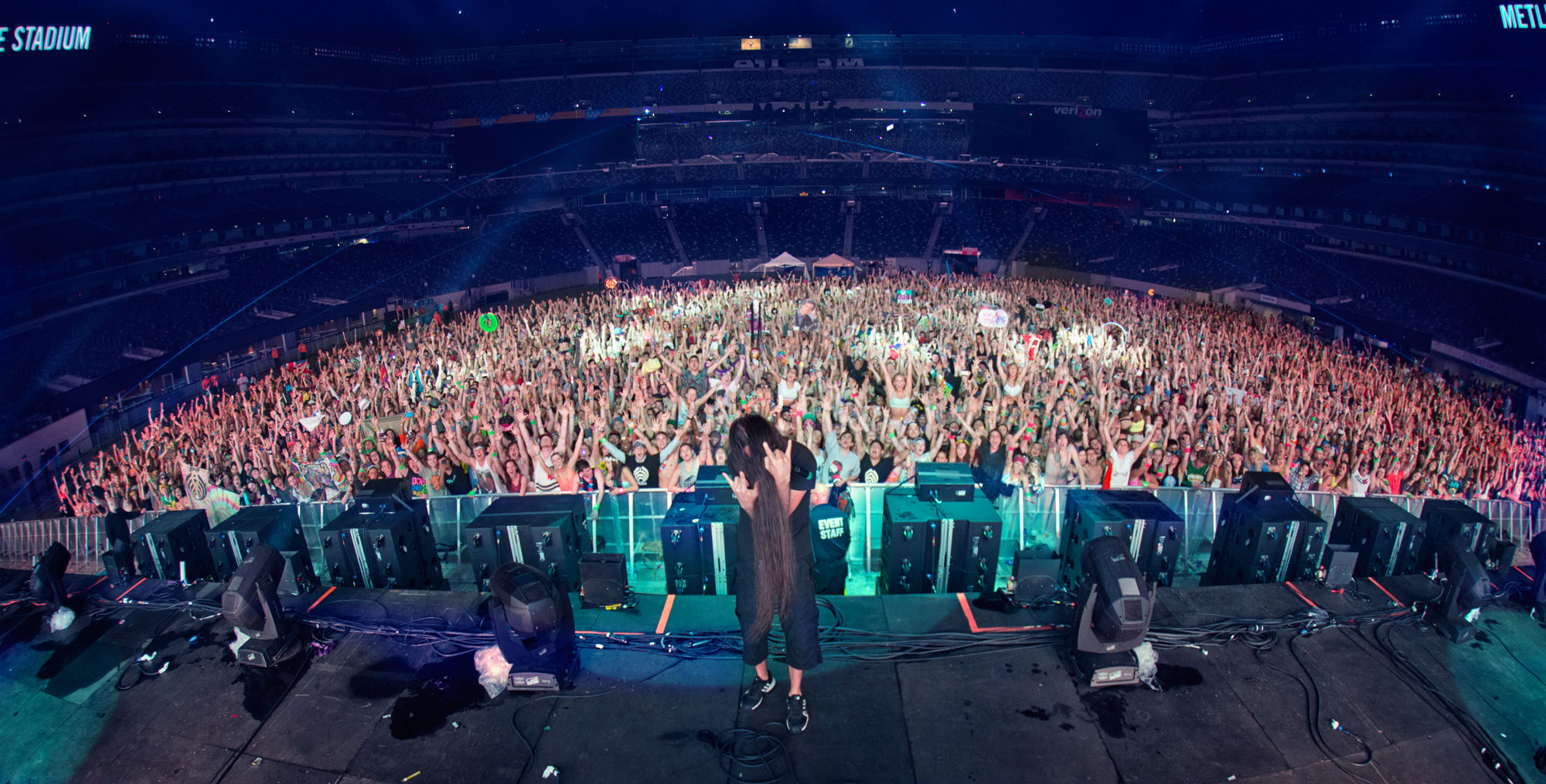 Bassnectar - EDC New York Family Photo 5/25/14