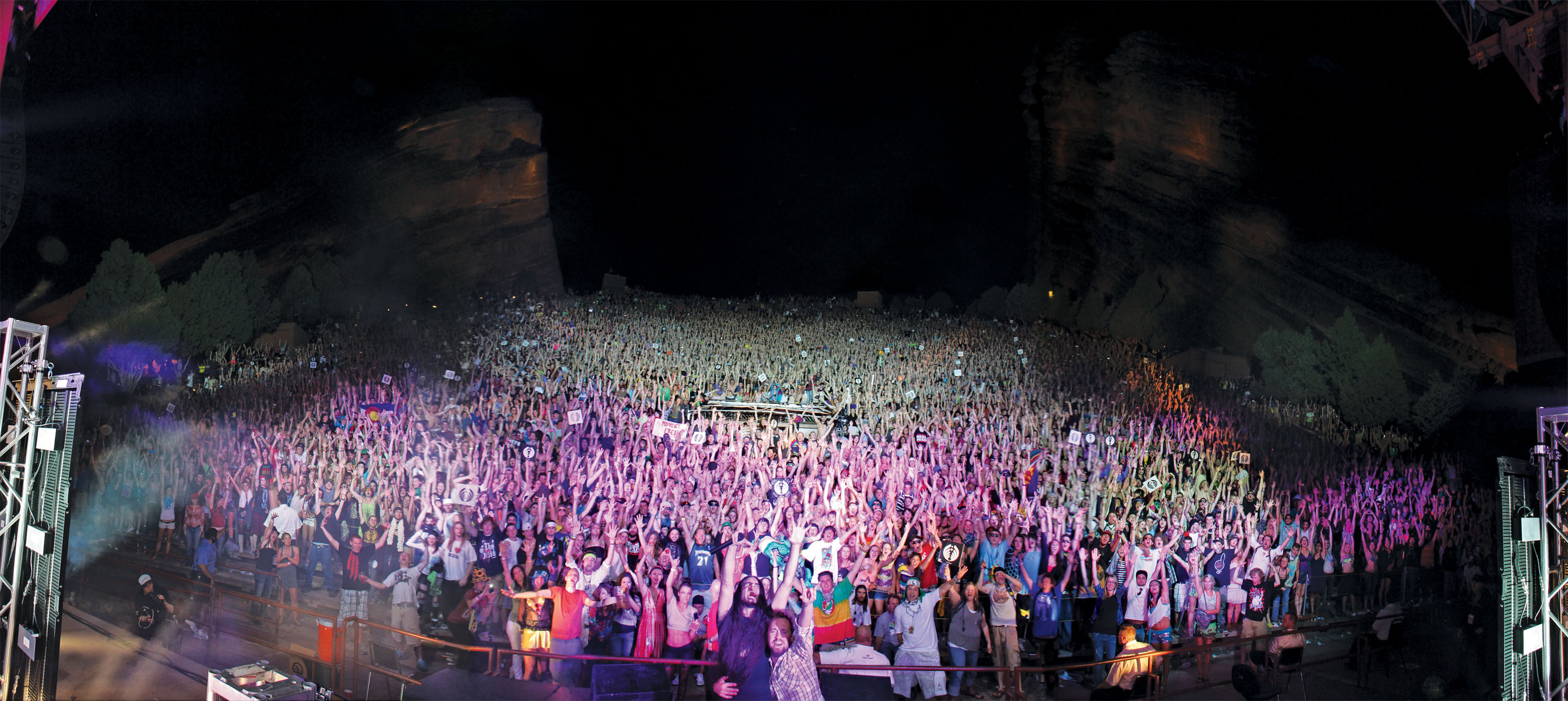 Bassnectar @ Red Rocks 2011