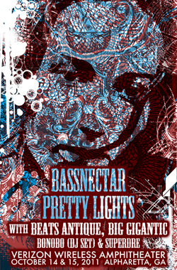Bassnectar & Pretty Lights in Atlanta, GA