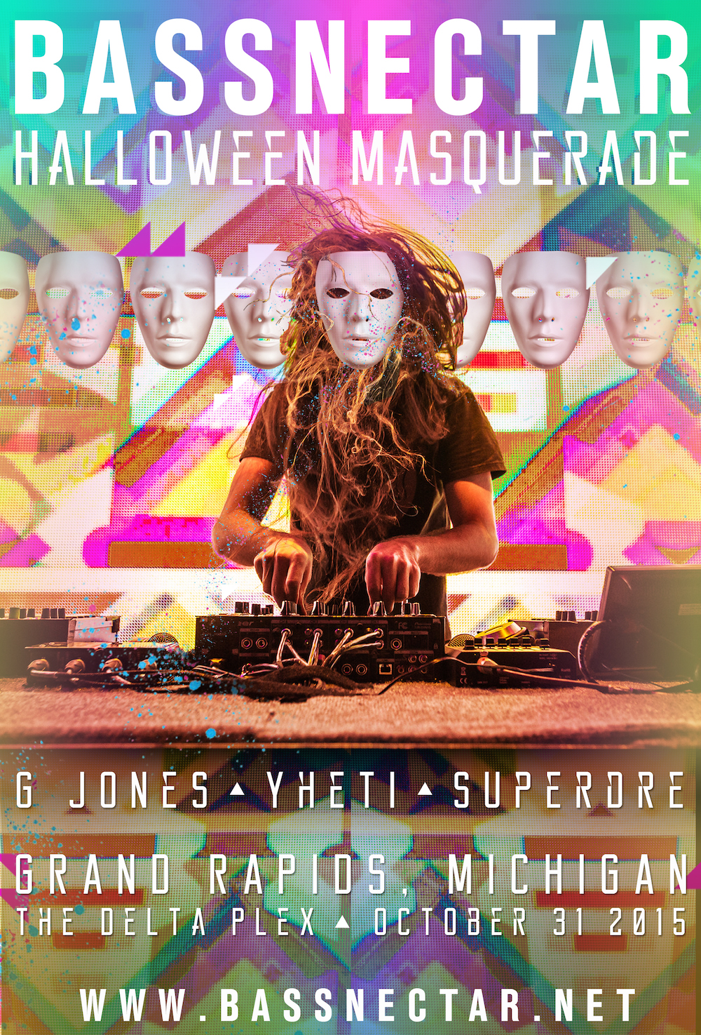 Bassnectar Halloween Masquerade 2015 in Grand Rapids, Michigan
