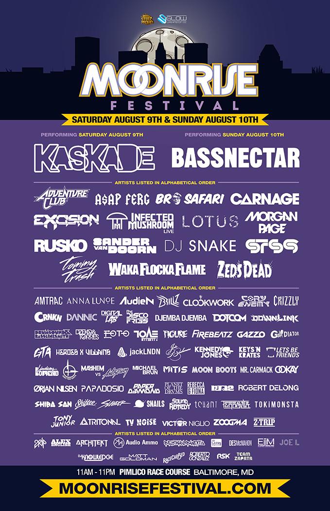 Bassnectar at Moonrise Festival