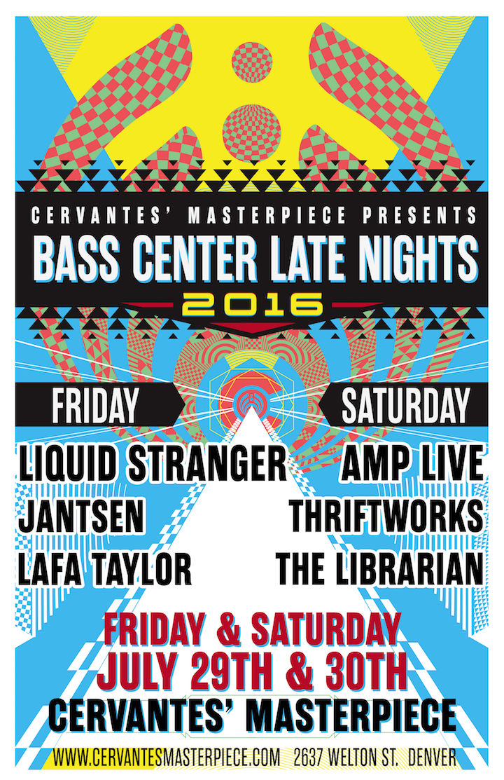 Bassnectar presents Bass Center Late Nights - Cervantes Masterpiece