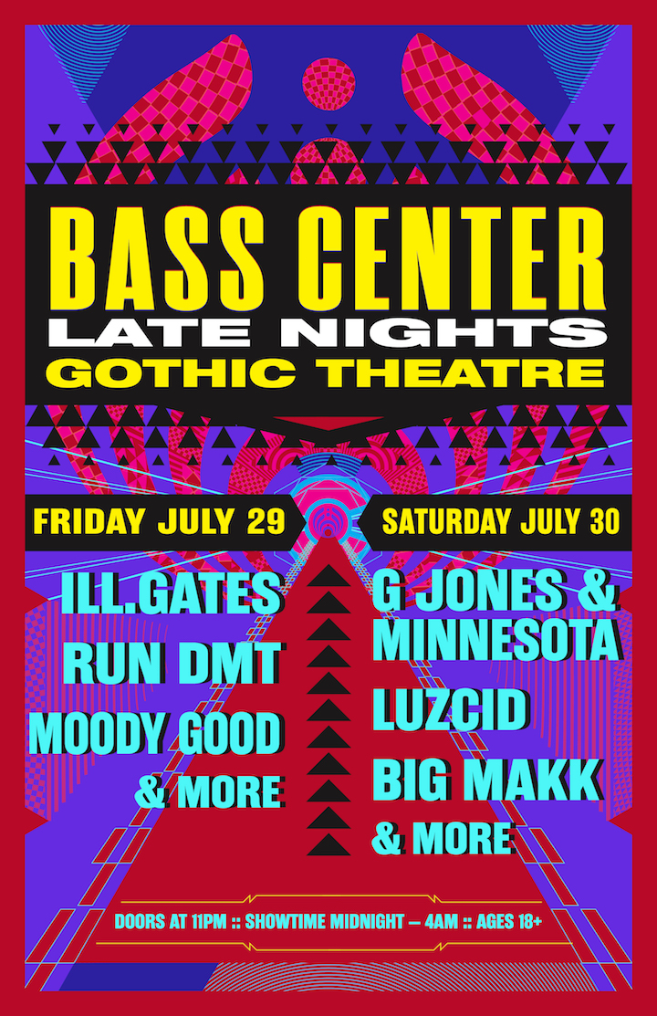 Bassnectar presents Bass Center Late Nights - Gothic Theater
