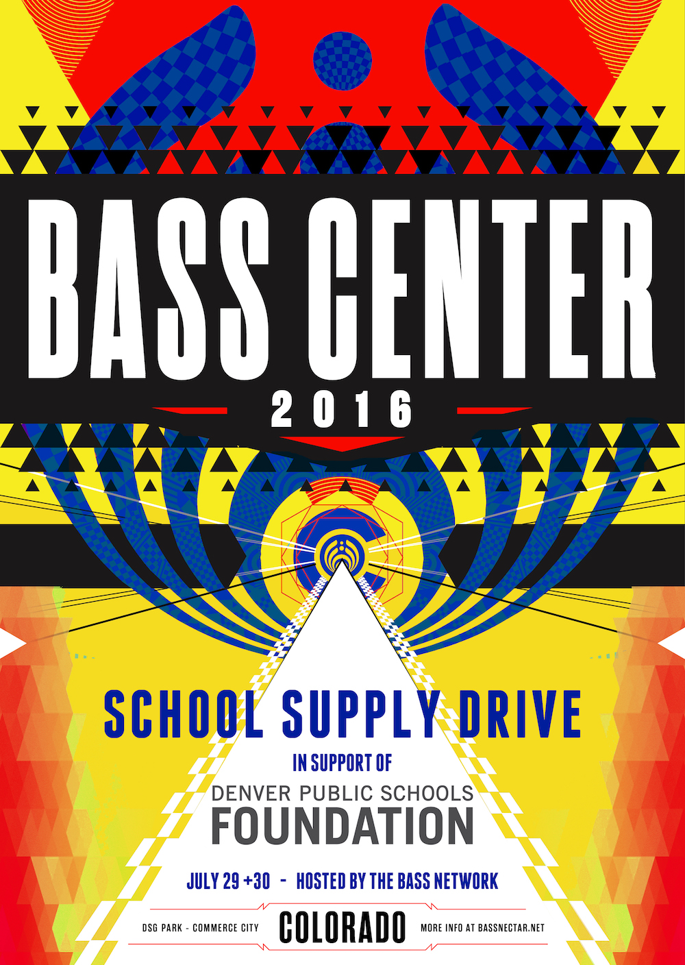 Bass Network - Bass Center Donation Drives