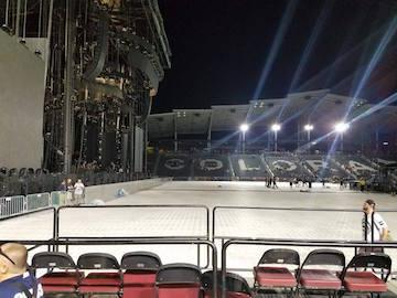 Bass Center clean Stadium after the show