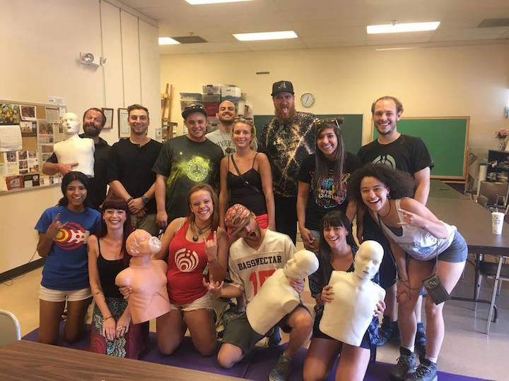 Ambassadors learn CPR