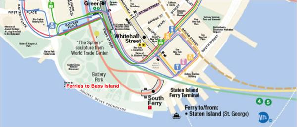 Bass Island Map