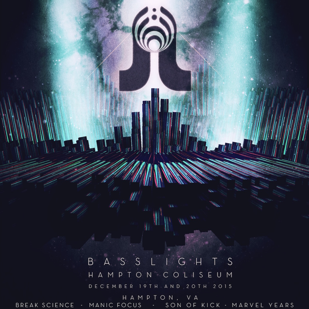 Basslights 2015 - Bassnectar + Pretty Lights in Hampton VA