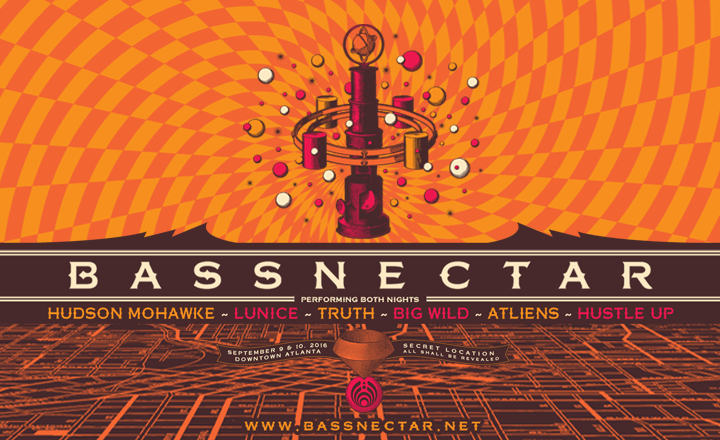 Bassnectar Atlanta 2016