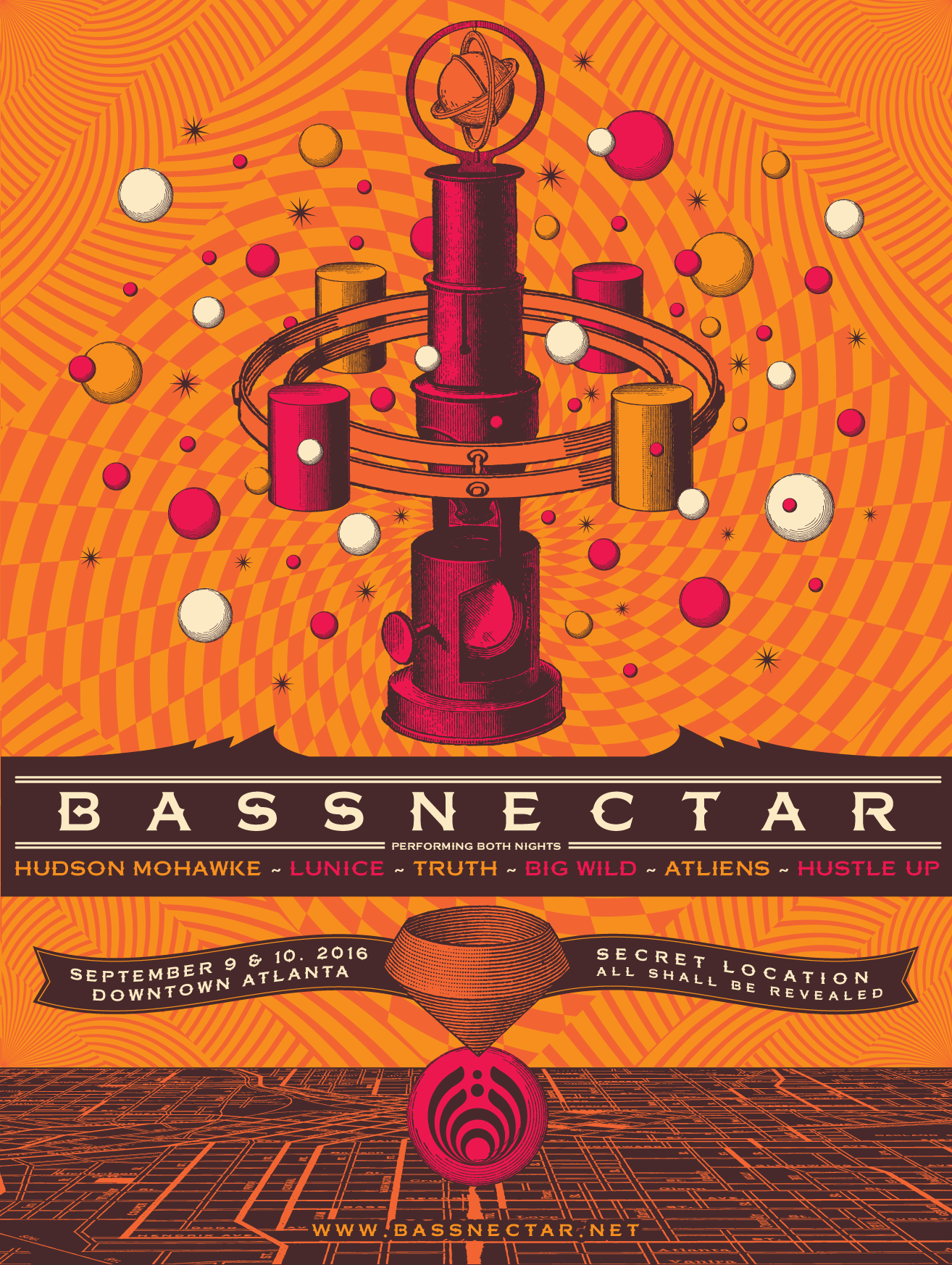 Bassnectar in Atlanta @ Secret Location