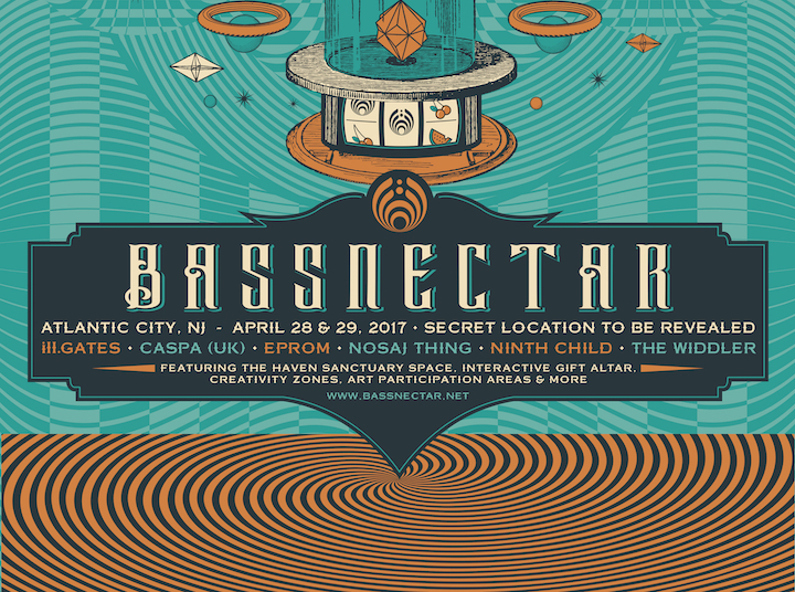 Bassnectar - Atlantic City 2017