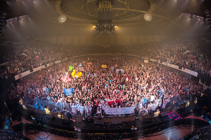 BASS CENTER X - NIGHT 2 FAMILY PHOTO 9/2/17