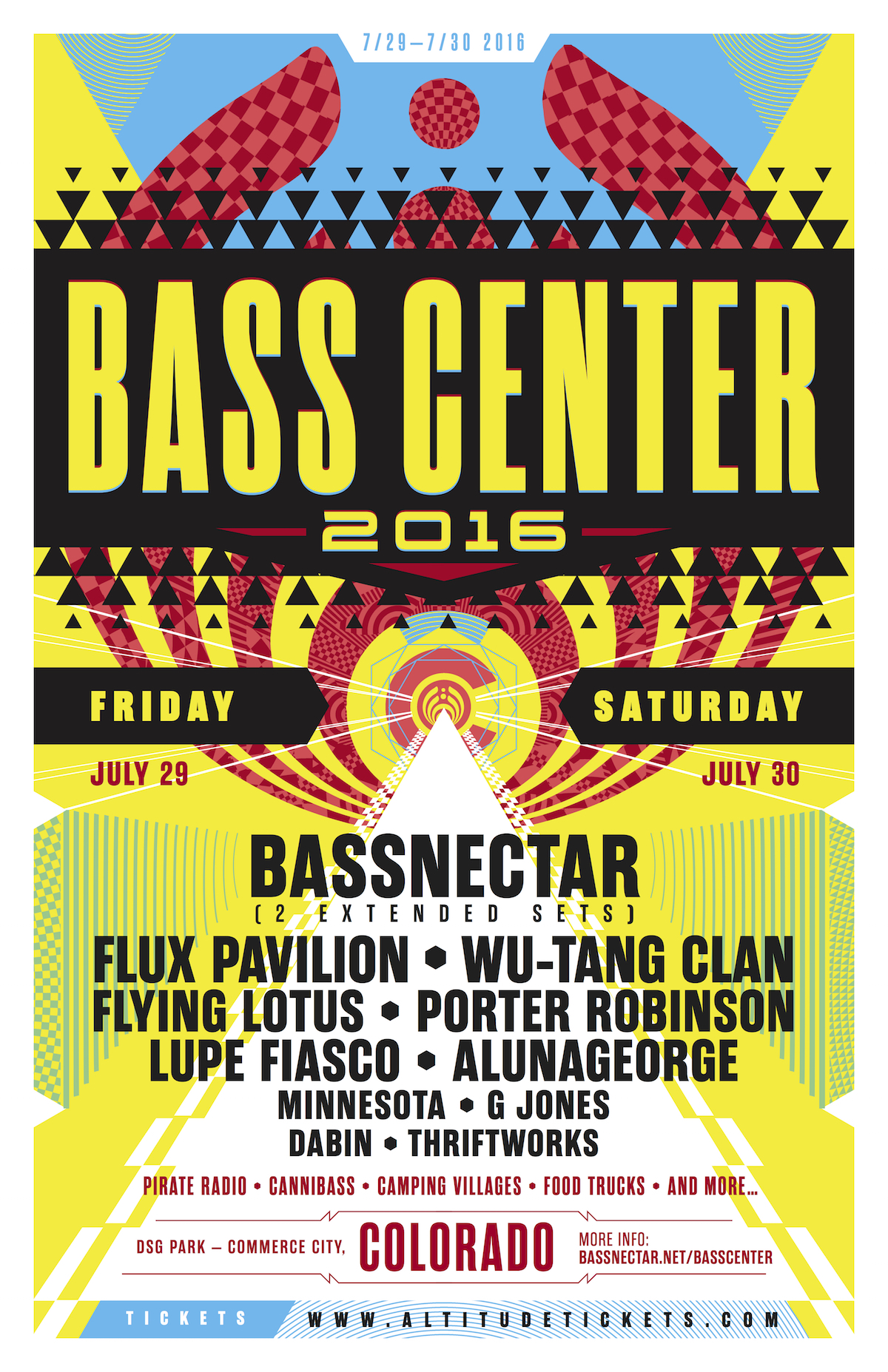 Bassnectar presents Bass Center 2016 - Colorado