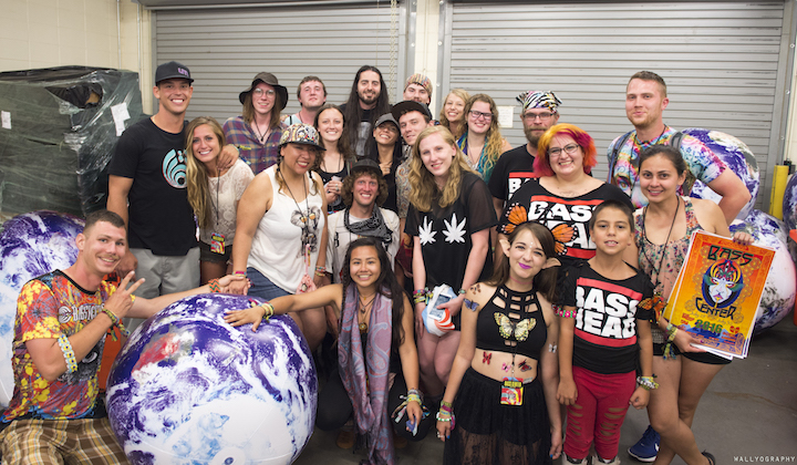 Bassnectar - Bass Center 2016 - Golden Ticket winners - photo by Peter Wallace