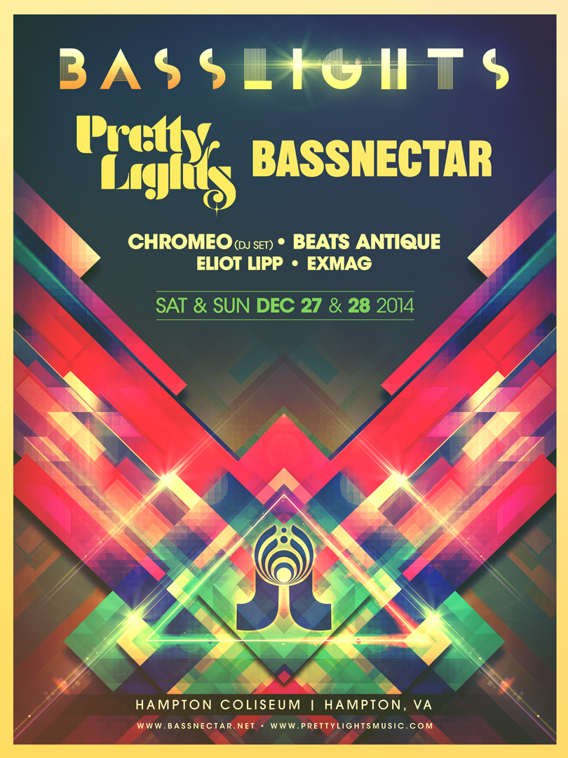 Bassnectar - Pretty Lights - Basslights 2014
