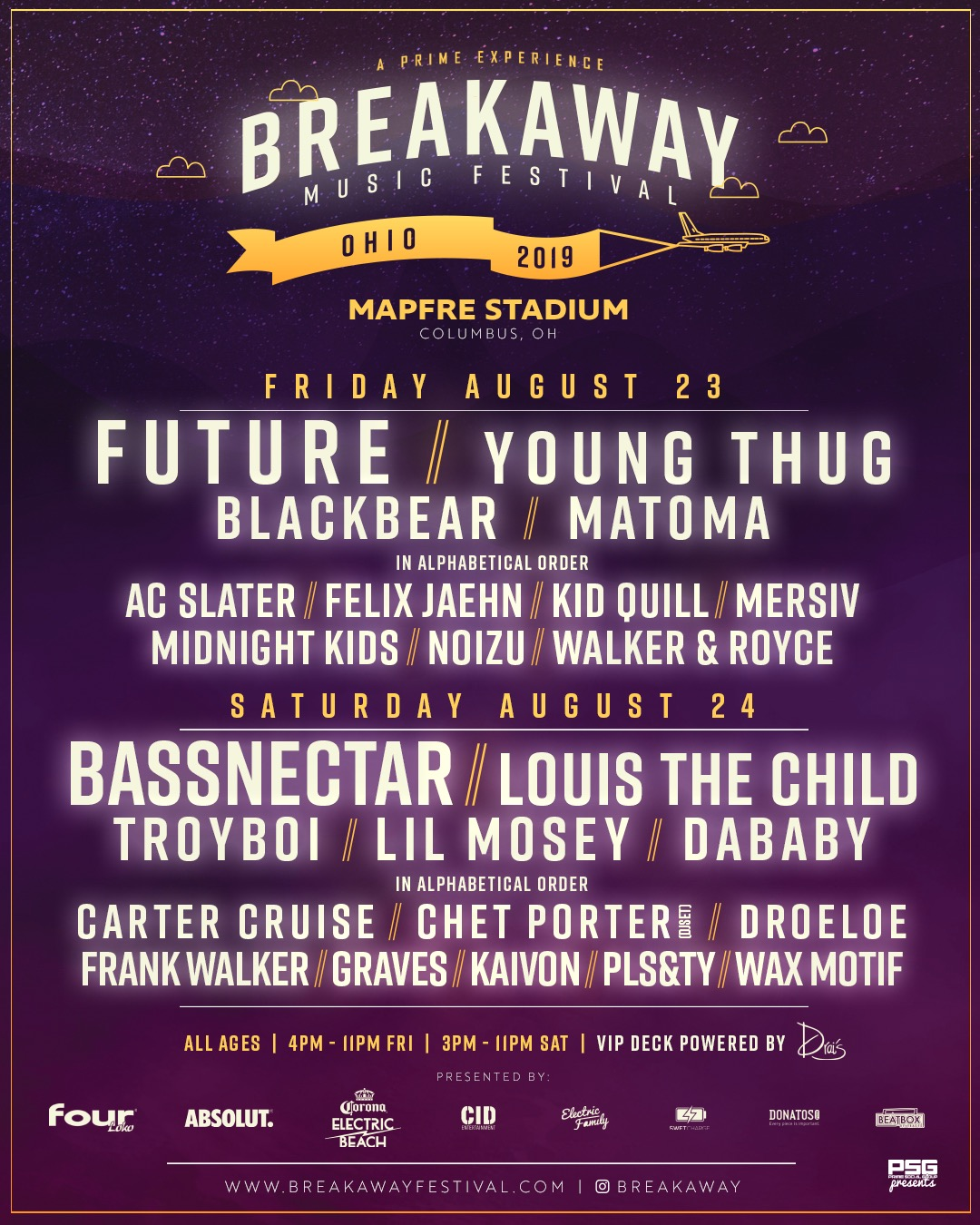 Bassnectar at Breakaway 2019