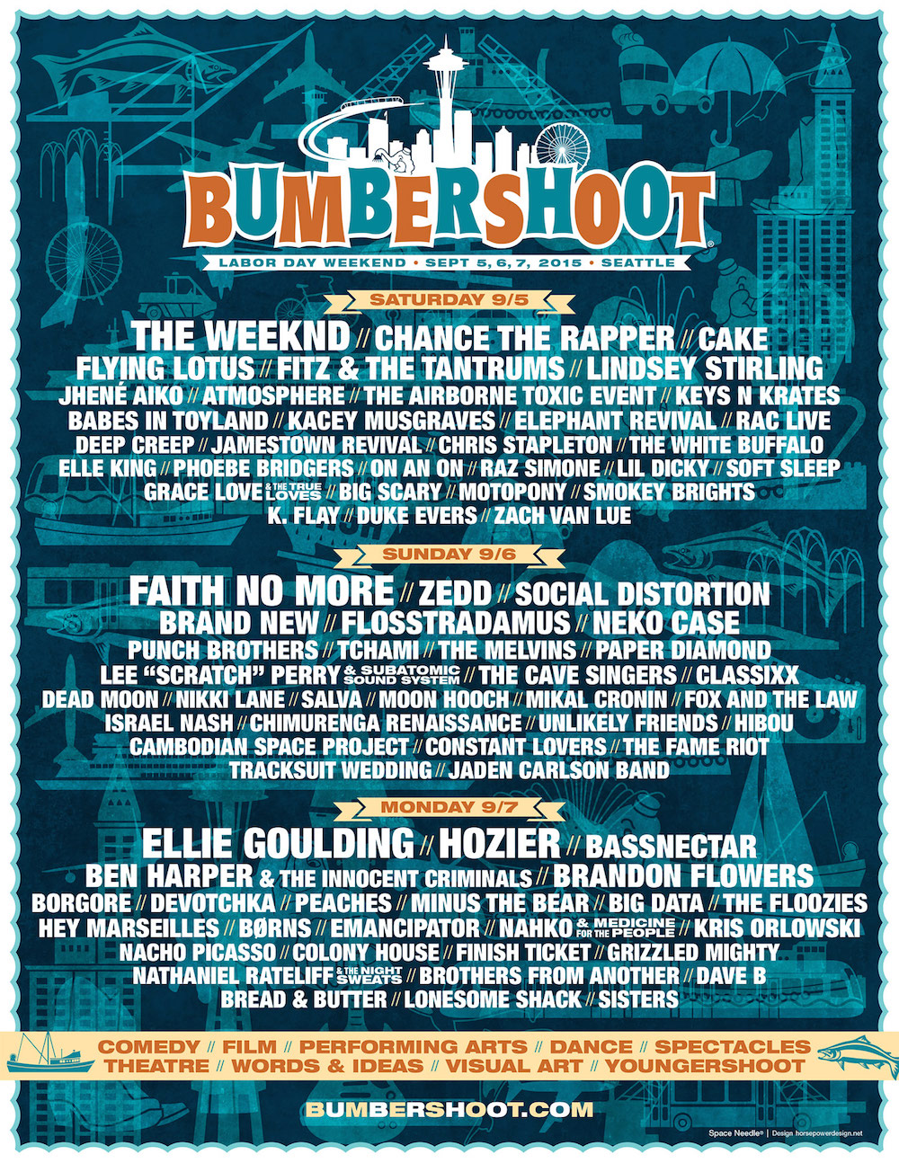 Bassnectar @ Bumbershoot 2015