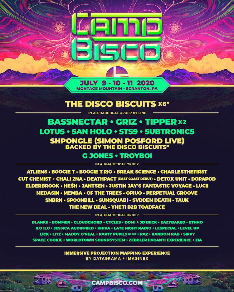 Bassnectar at Camp Bisco 2020