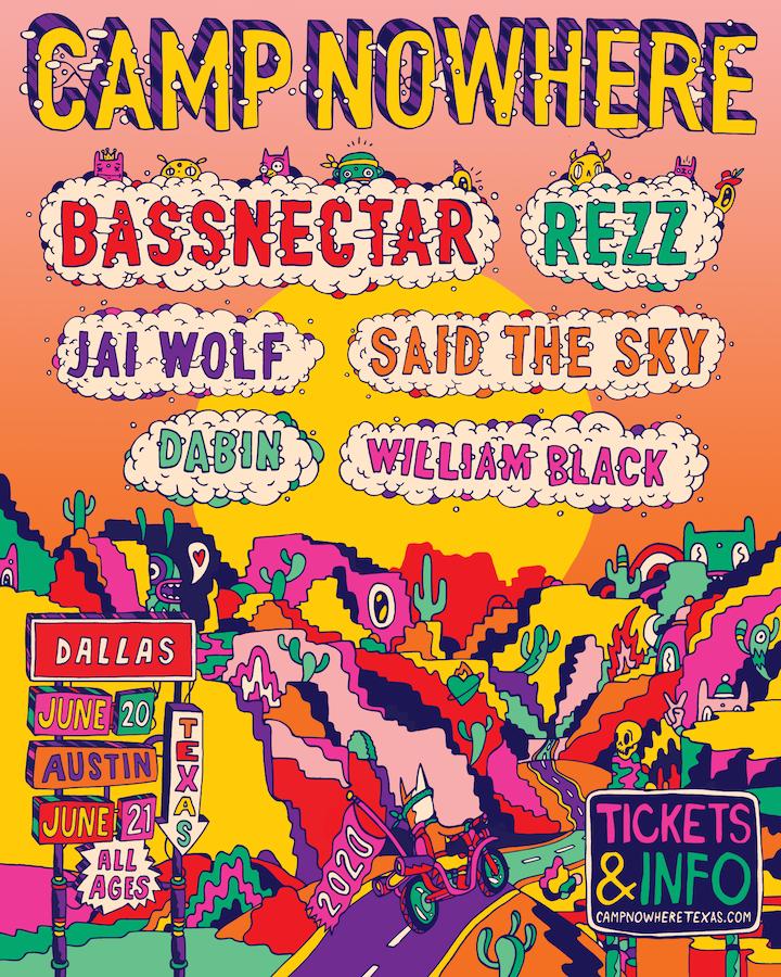 Bassnectar at Bonnaroo 2020