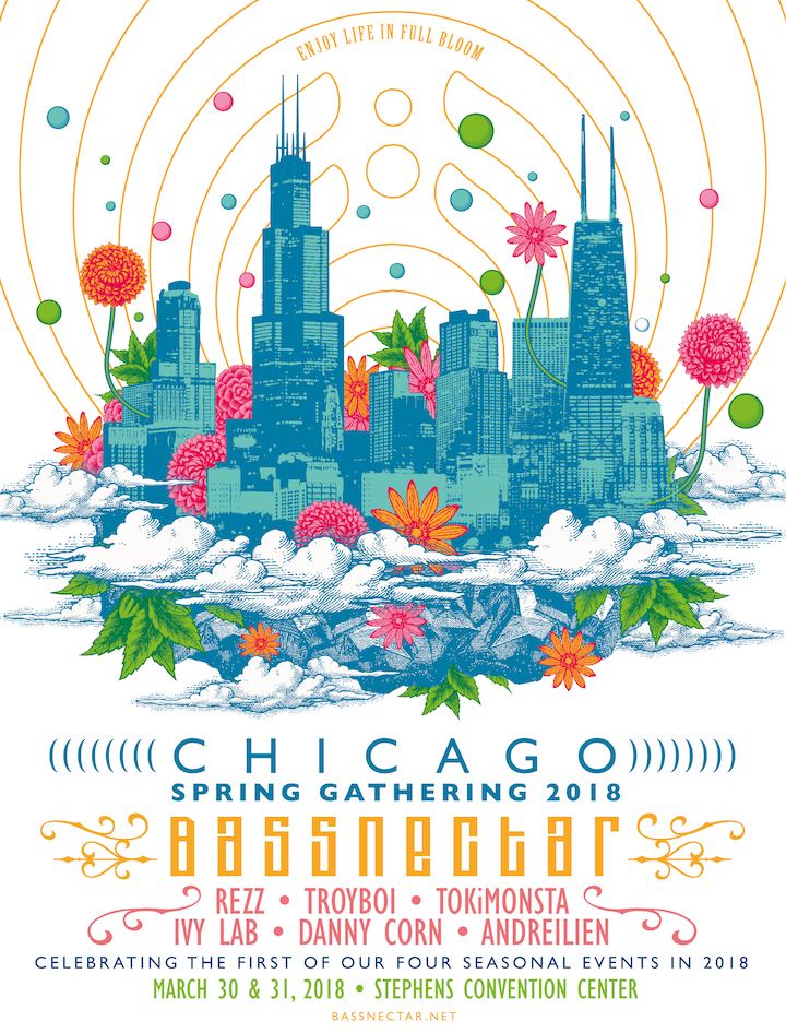 Bassnectar - Chicago Spring Gathering 2018