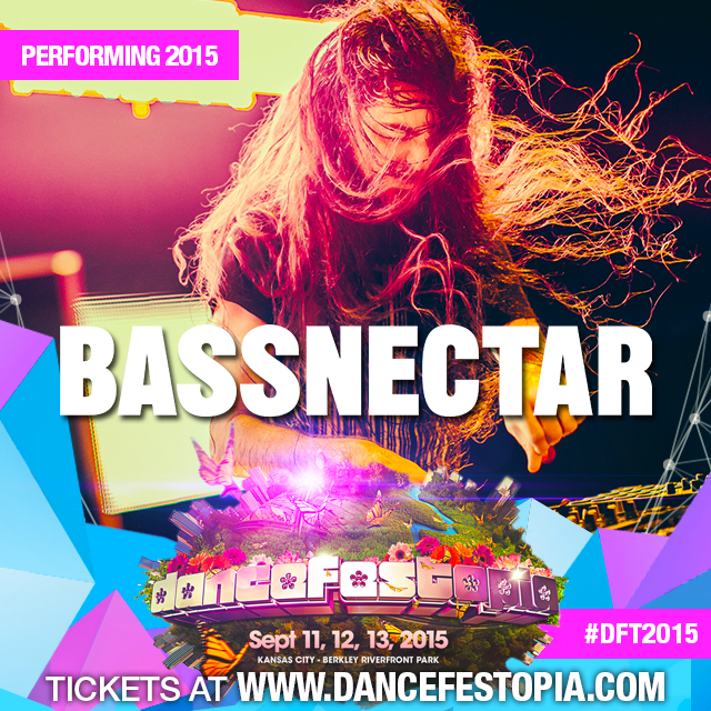 Bassnectar @ Dancefestopia Kansas City 2015