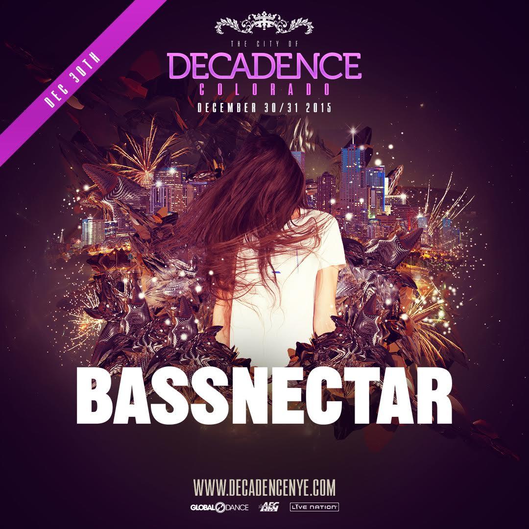 Bassnectar @ Decadence 2015