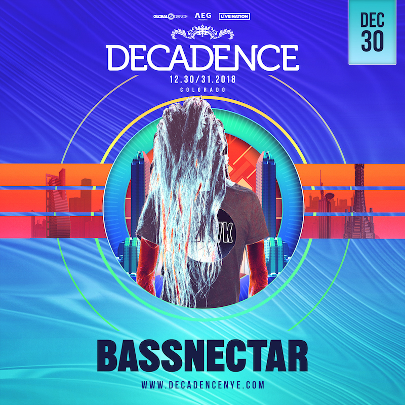 Bassnectar at Decadence 2018