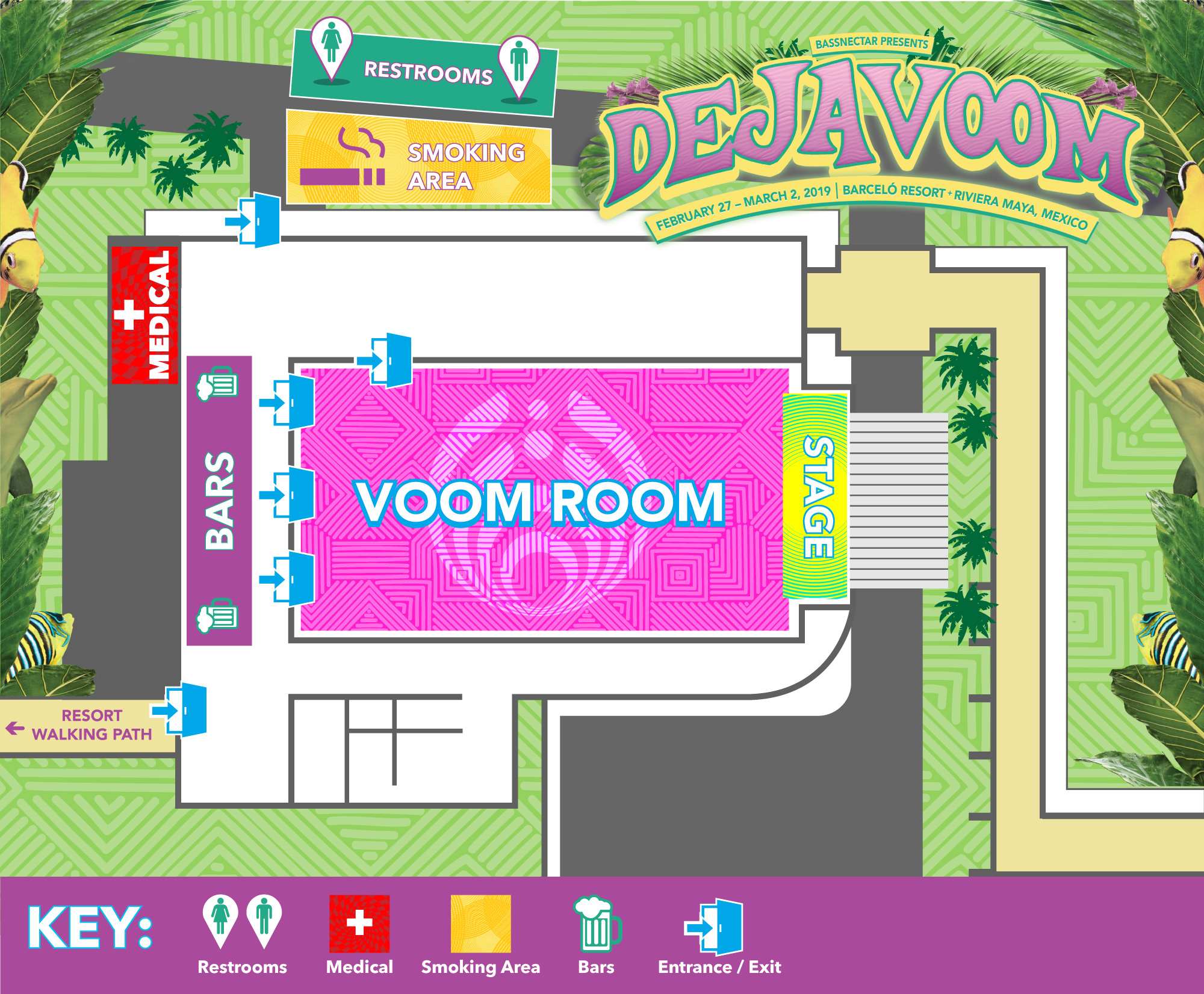 Deja Voom Map - Voom Room