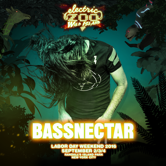 Bassnectar @ Electric Zoo Wild Island NYC
