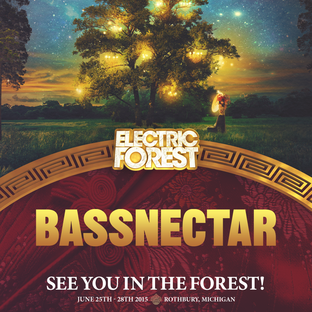 Bassnectar @ Electric Forest 2015