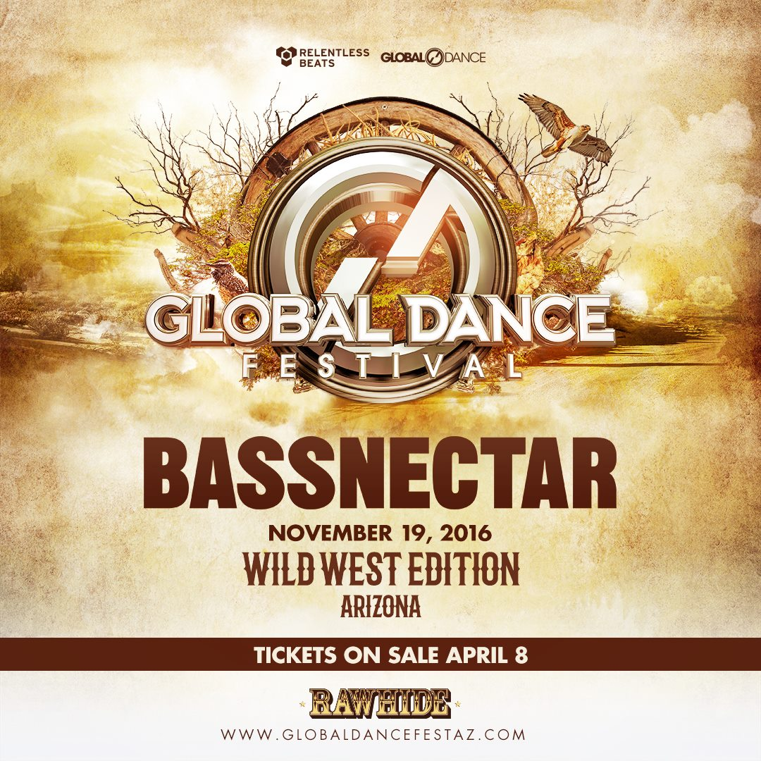 Bassnectar @ Global Dance Festival Arizona 2016