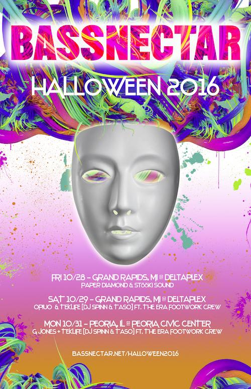 Bassnectar - Halloween 2016