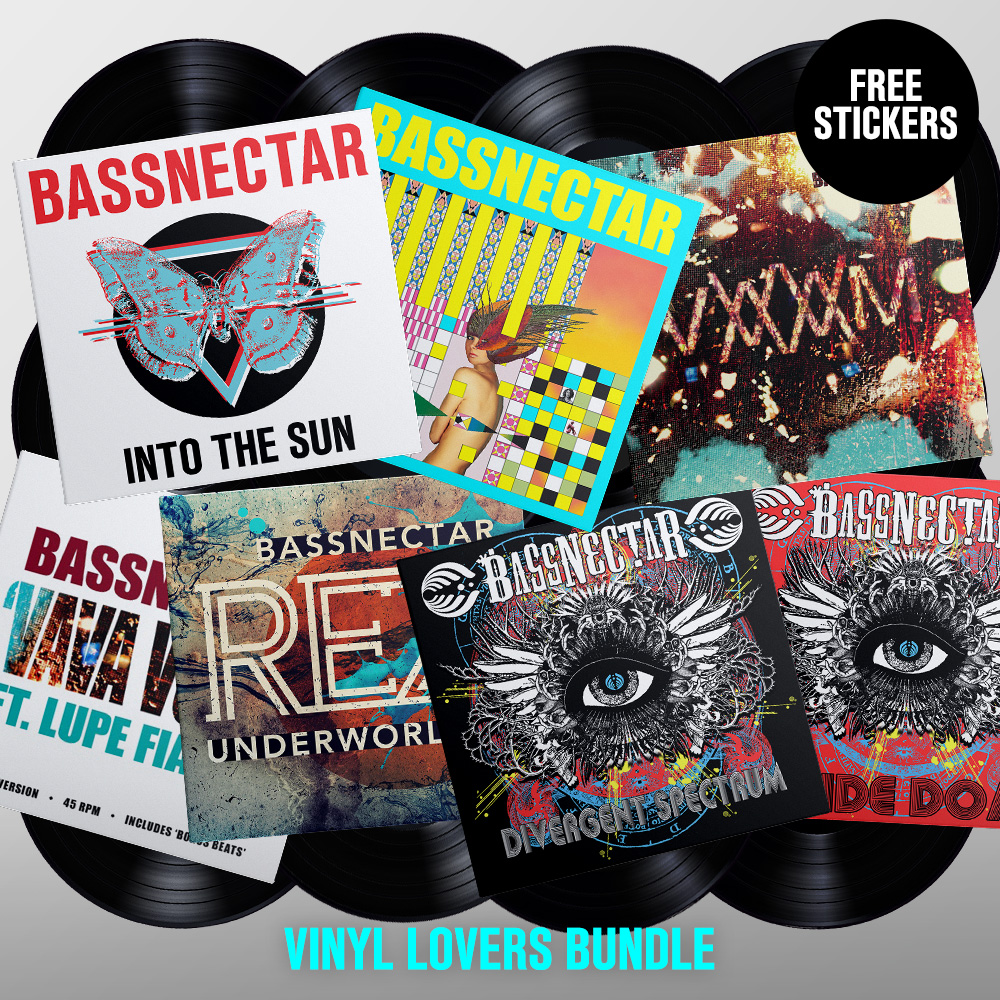 Bassnectar - Into The Sun Vinyl