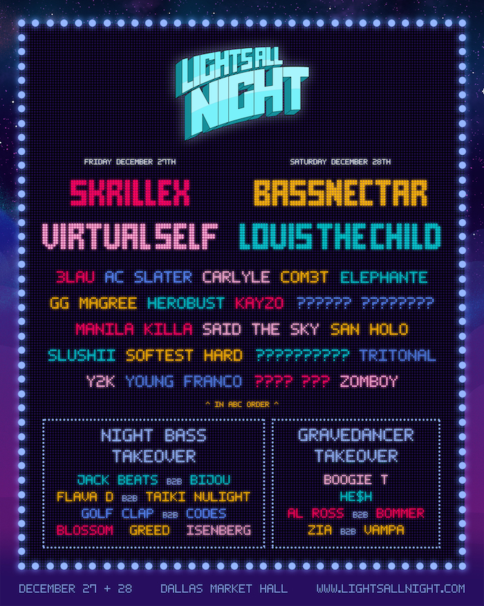 Bassnectar at Lights All Night 2019