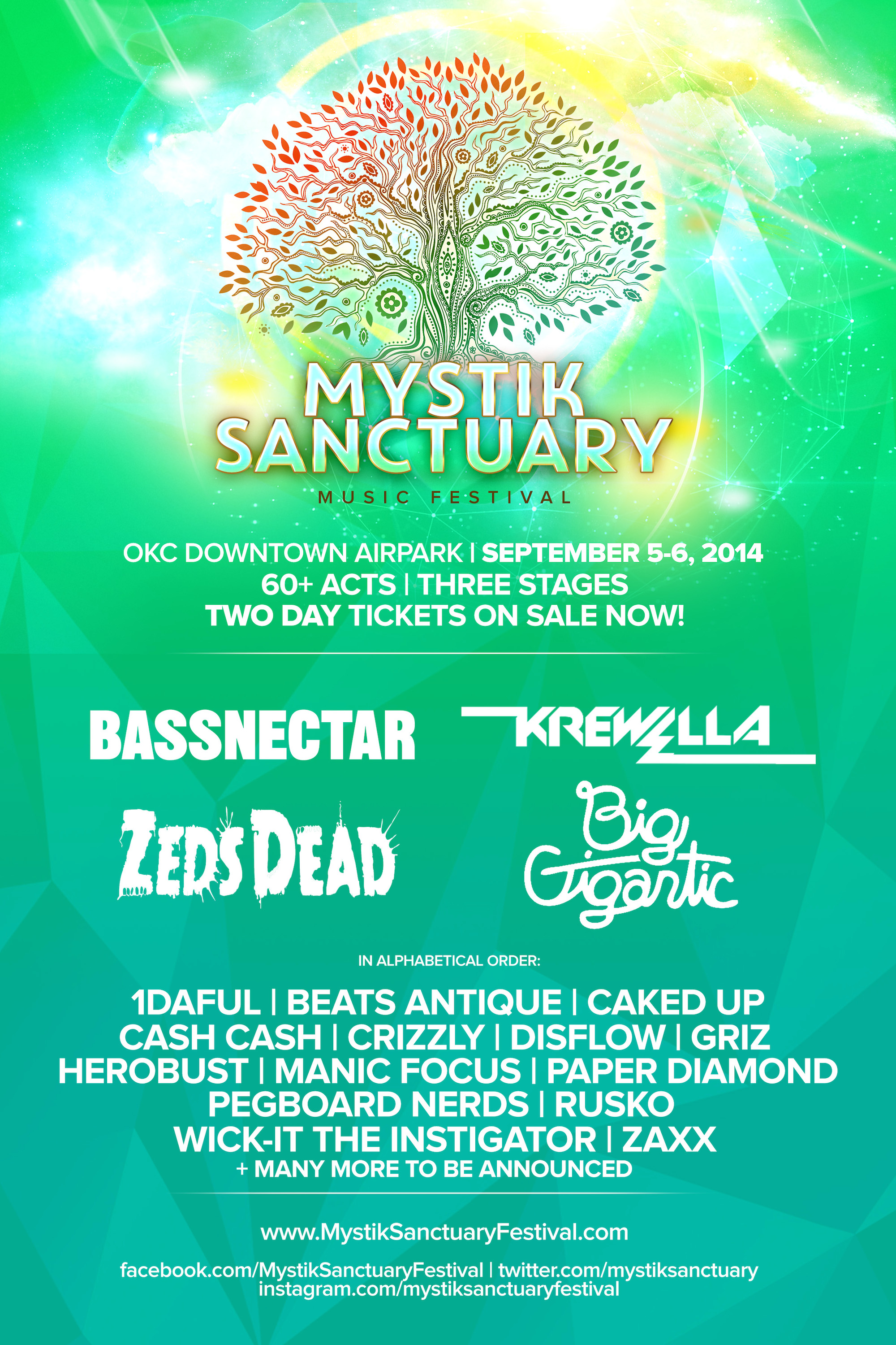 Bassnectar at Mystik Sanctuary Festival