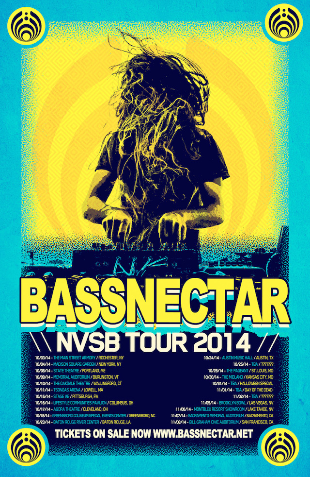 Bassnectar - NVSB Tour 2014 - Tickets on sale now!